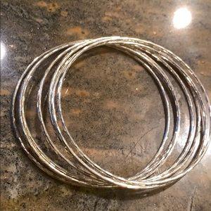 Sterling Silver 7 Bracelets